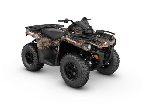 2017 Can-Am Outlander DPS 570 in Poteau, Oklahoma