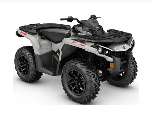 2017 Can-Am Outlander DPS 850 in Jones, Oklahoma