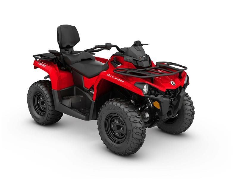 2017 Can-Am Outlander MAX 570 in Poteau, Oklahoma