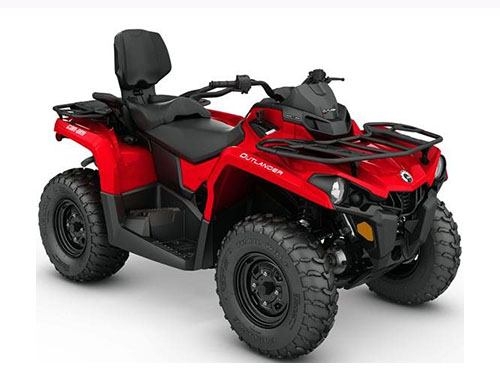 2017 Can-Am Outlander MAX 570 in Keokuk, Iowa