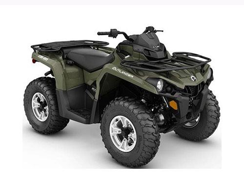 2017 Can-Am Outlander MAX DPS 450 in Island Park, Idaho