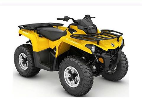 2017 Can-Am Outlander MAX DPS 450 in Seiling, Oklahoma