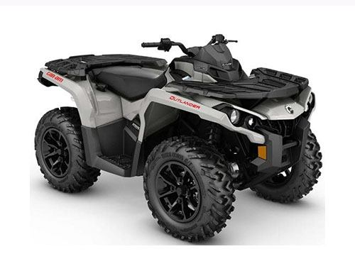 2017 Can-Am Outlander MAX DPS 650 in Zulu, Indiana