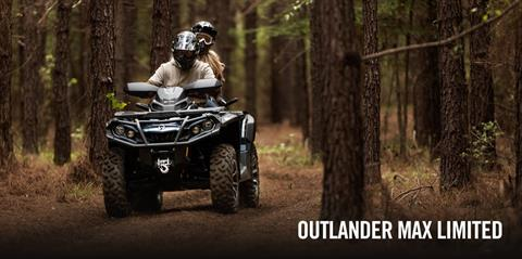 2017 Can-Am Outlander MAX Limited 1000 in Dearborn Heights, Michigan