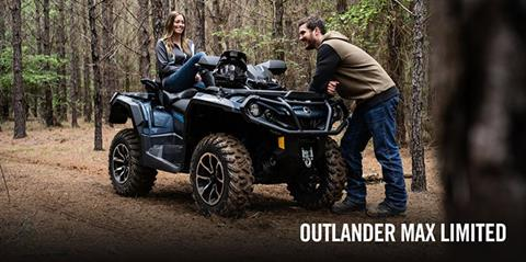 2017 Can-Am Outlander MAX Limited 1000 in Cochranville, Pennsylvania