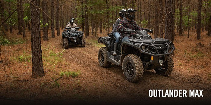 2017 Can-Am Outlander MAX XT-P 1000R in Cochranville, Pennsylvania
