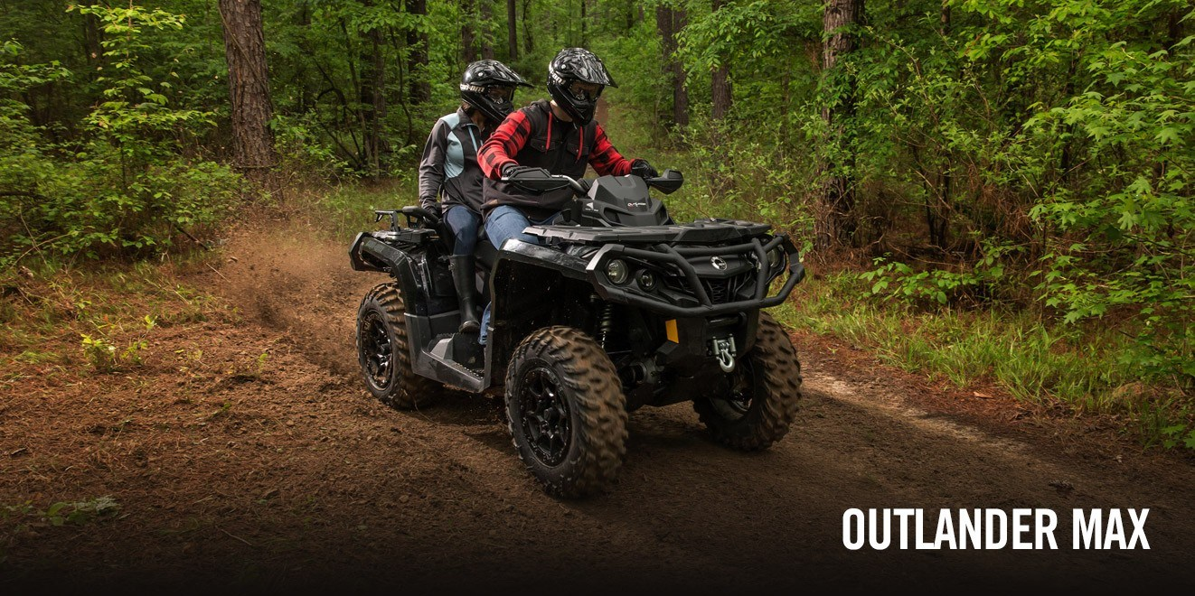 2017 Can-Am Outlander MAX XT 650 in Lancaster, New Hampshire