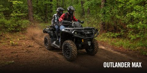 2017 Can-Am Outlander MAX XT 850 in Chippewa Falls, Wisconsin