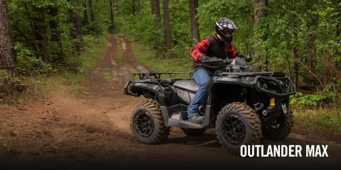 2017 Can-Am Outlander MAX XT 850 in Columbus, Nebraska