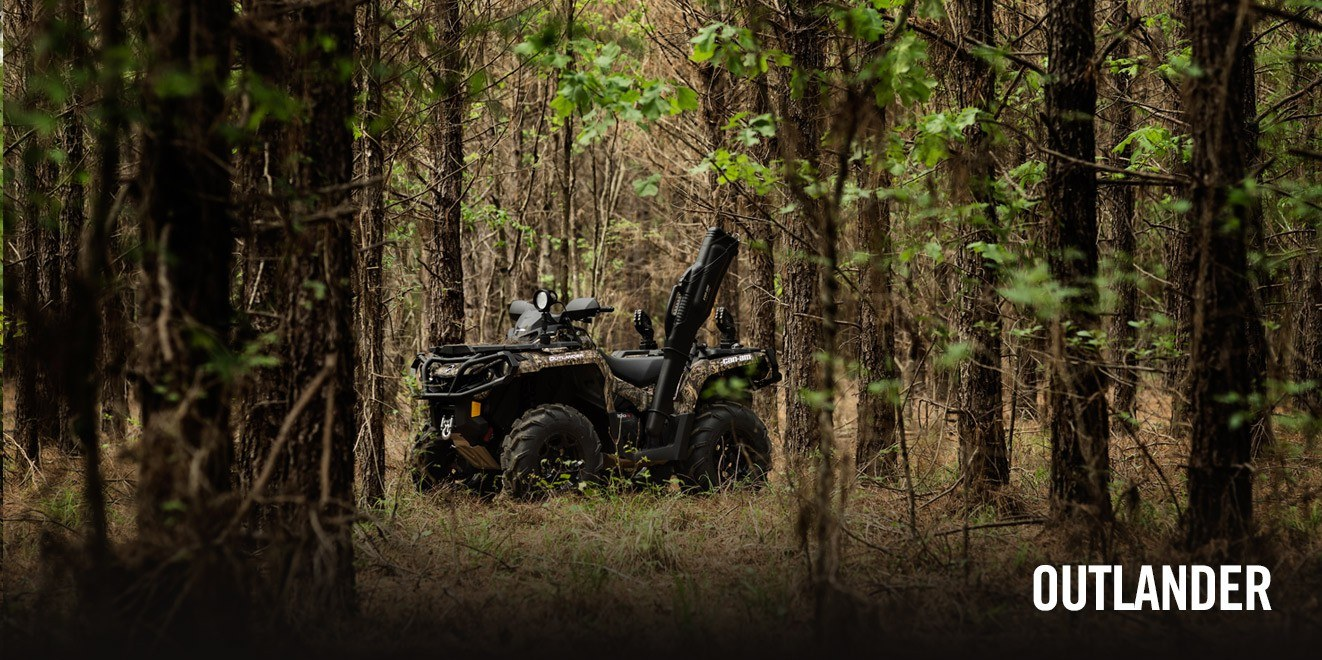 2017 Can-Am Outlander Mossy Oak Hunting Edition 1000R in Hanover, Pennsylvania
