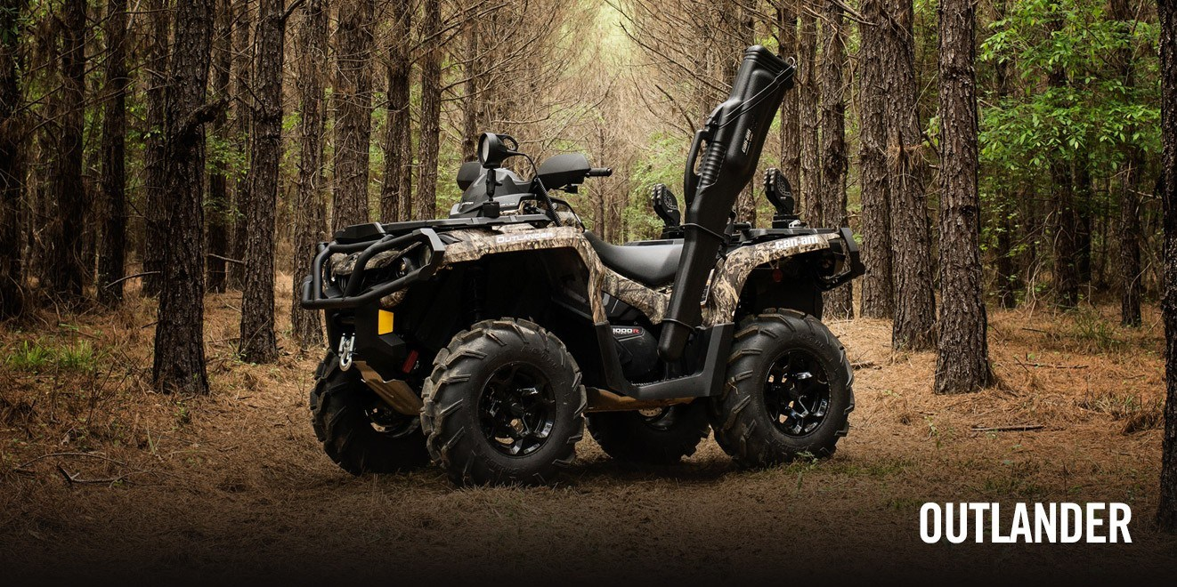 2017 Can-Am Outlander Mossy Oak Hunting Edition 1000R in Oklahoma City, Oklahoma
