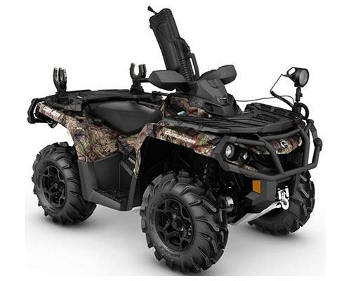 2017 Can-Am Outlander Mossy Oak Hunting Edition 1000R in Poteau, Oklahoma