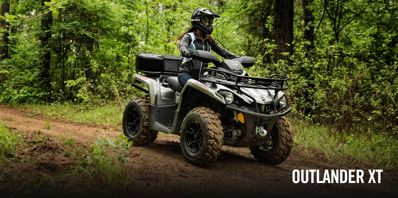 2017 Can-Am Outlander XT 570 in Enfield, Connecticut