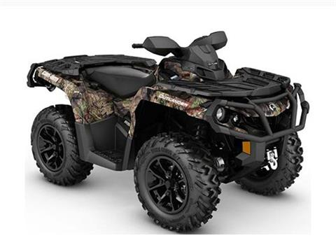 2017 Can-Am Outlander XT 850 in Colebrook, New Hampshire