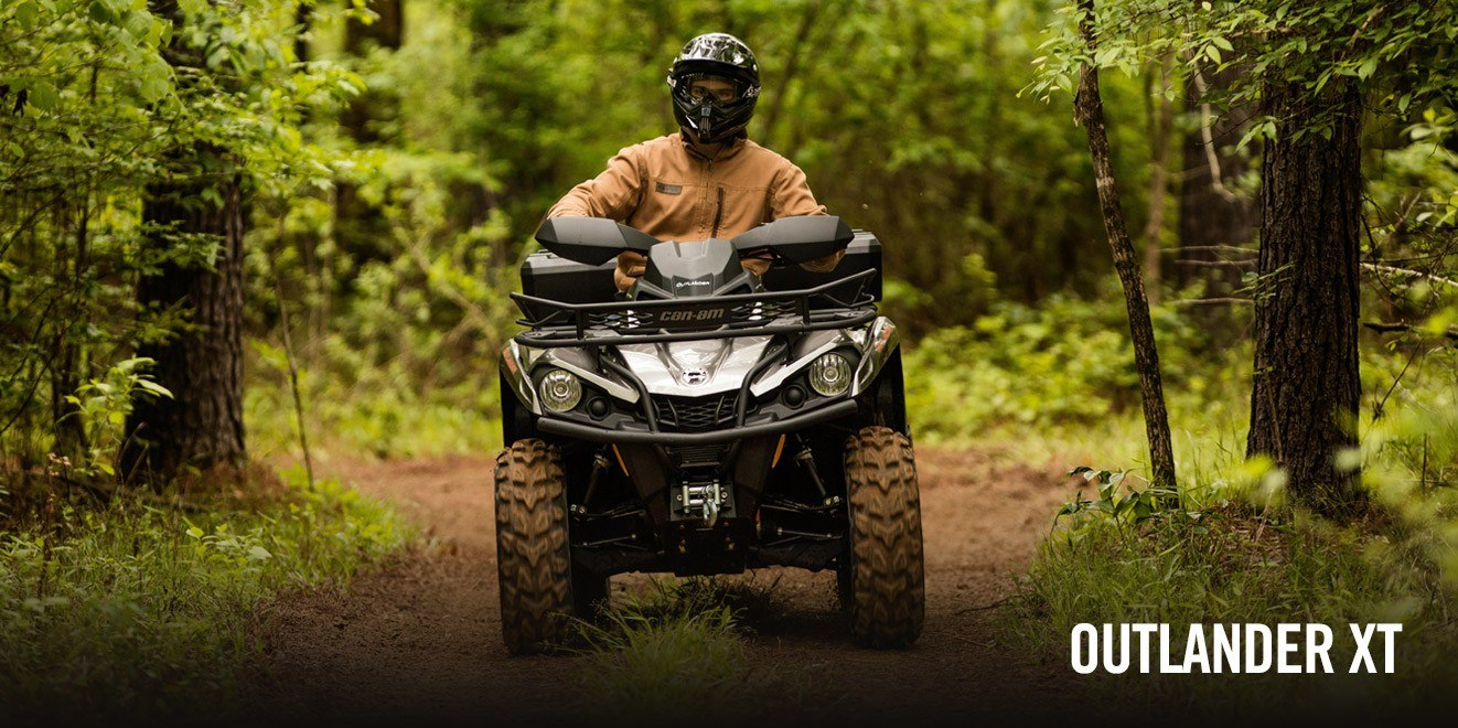 2017 Can-Am Outlander XT 850 in Augusta, Maine