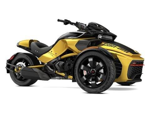 2017 Can-Am Spyder F3-S Daytona 500 SM6 in Enfield, Connecticut