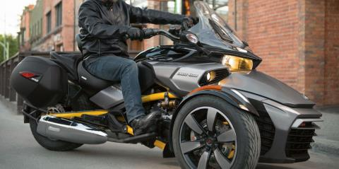 2017 Can-Am Spyder F3-S SE6 in Dearborn Heights, Michigan