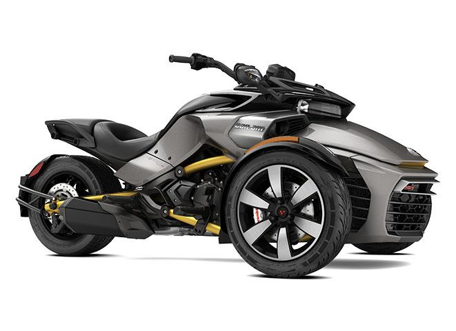 2017 Can-Am Spyder F3-S SE6 in Cartersville, Georgia