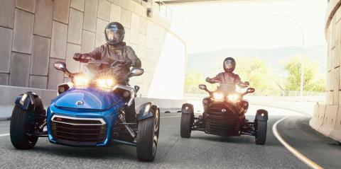 2017 Can-Am Spyder F3-S SM6 in Albemarle, North Carolina