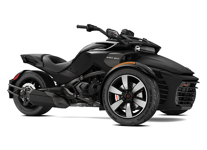 2017 Can-Am Spyder F3-S SM6 in Enfield, Connecticut