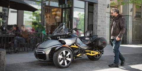 2017 Can-Am Spyder F3-S SM6 in De Forest, Wisconsin