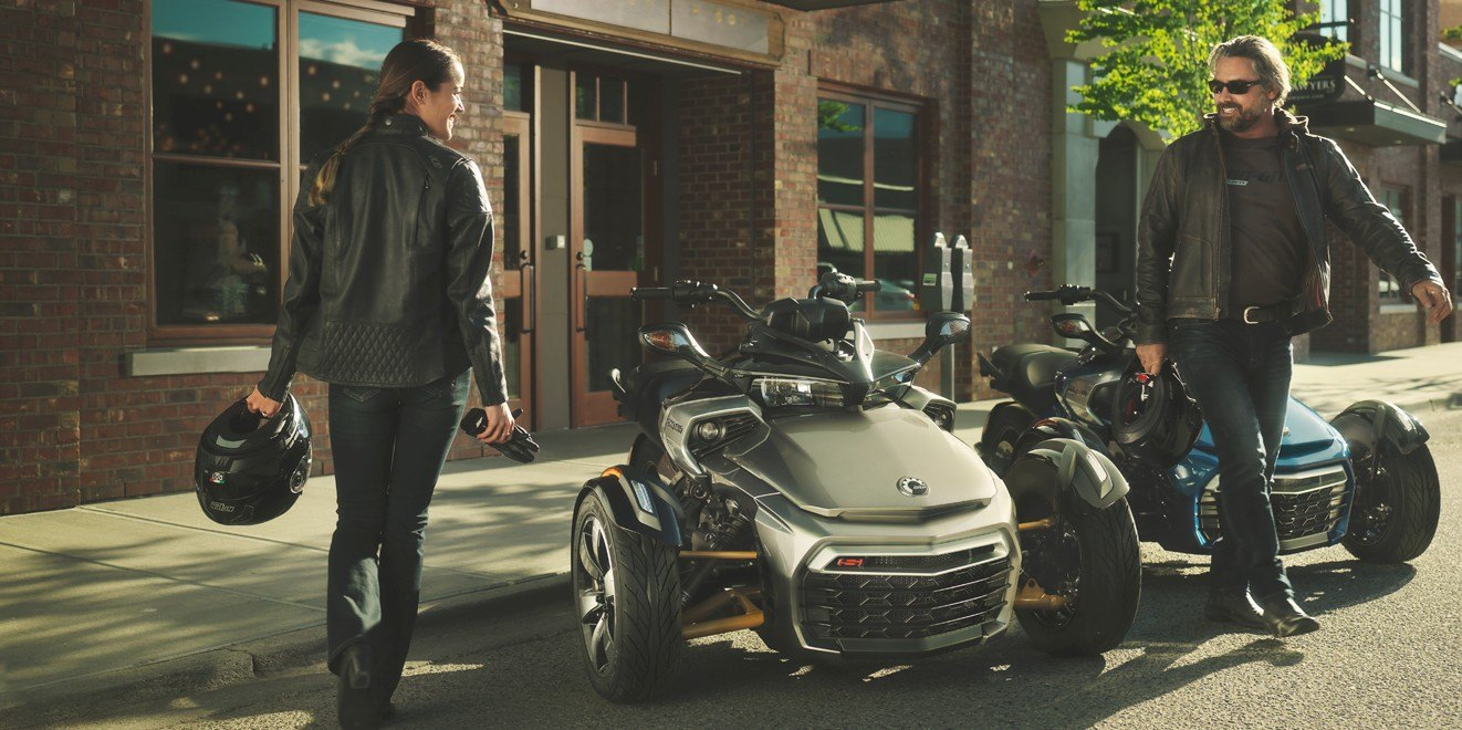 2017 Can-Am Spyder F3-S SM6 in Mineola, New York
