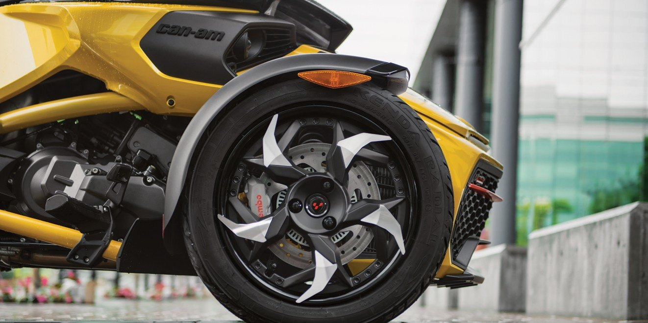 2017 Can-Am Spyder F3-S SM6 in Castaic, California