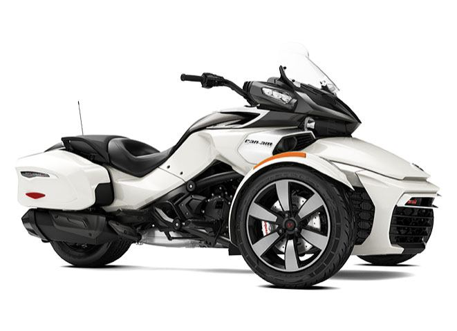 2017 Can-Am Spyder F3-T SE6 in Batavia, Ohio