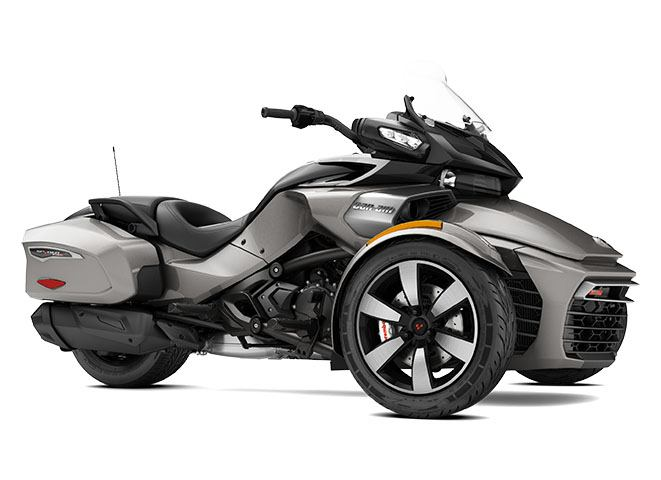 2017 Can-Am Spyder F3-T SE6 in Cochranville, Pennsylvania