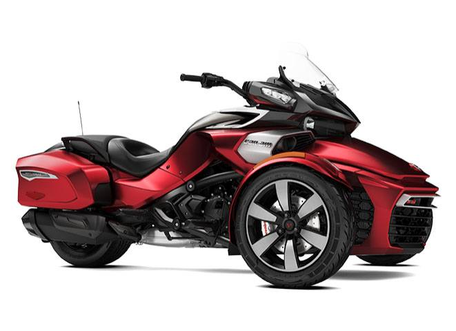 2017 Can-Am Spyder F3-T SM6 in Jones, Oklahoma