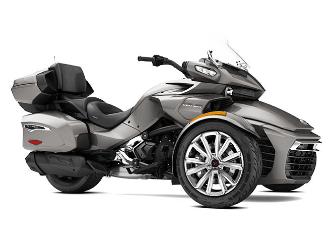 2017 Can-Am Spyder F3 Limited in Hollister, California
