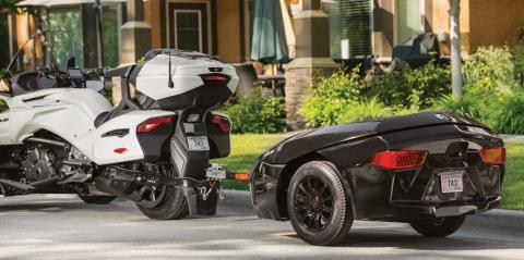 2017 Can-Am Spyder F3 Limited in Conway, New Hampshire