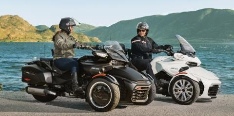 2017 Can-Am Spyder F3 Limited in Corona, California