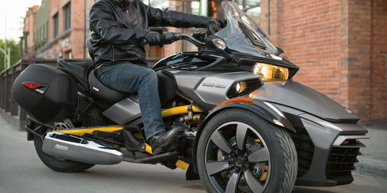 2017 Can-Am Spyder F3 SM6 in Wilkes Barre, Pennsylvania