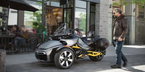 2017 Can-Am Spyder F3 SM6 in Pompano Beach, Florida