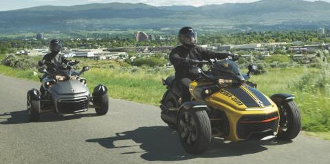 2017 Can-Am Spyder F3 SM6 in Leland, Mississippi