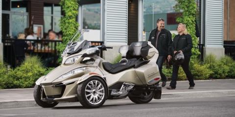 2017 Can-Am Spyder RT Limited in Wasilla, Alaska