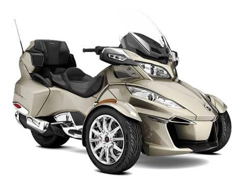 2017 Can-Am Spyder RT Limited in Conway, New Hampshire