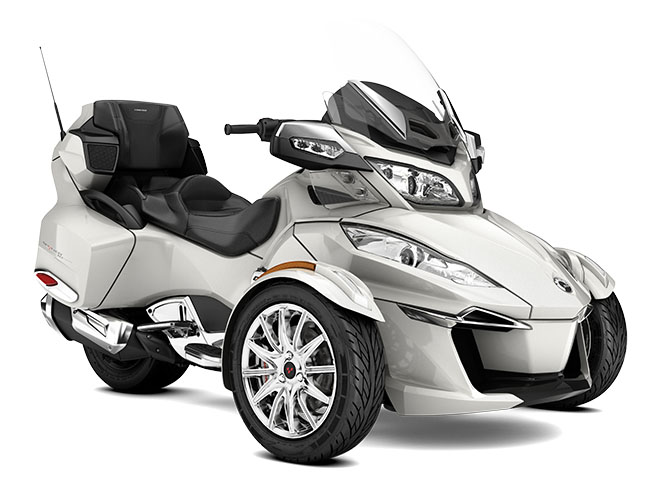 2017 Can-Am Spyder RT Limited in Hollister, California