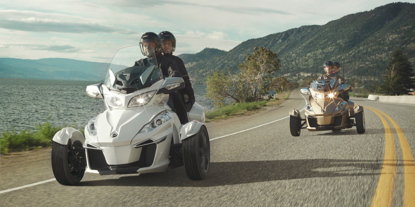 2017 Can-Am Spyder RT SM6 in Castaic, California