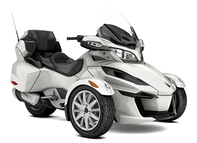 2017 Can-Am Spyder RT SM6 in Bennington, Vermont