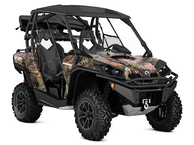 2017 Can-Am Commander 1000 Mossy Oak Hunting Edition in Seiling, Oklahoma