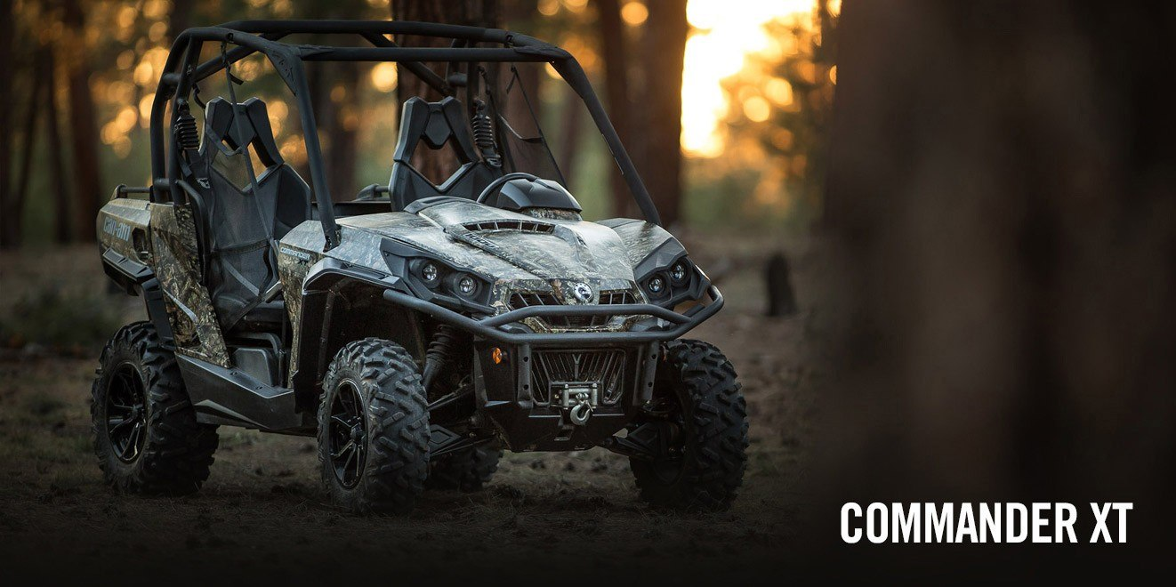 2017 Can-Am Commander 1000 Mossy Oak Hunting Edition in Brighton, Michigan
