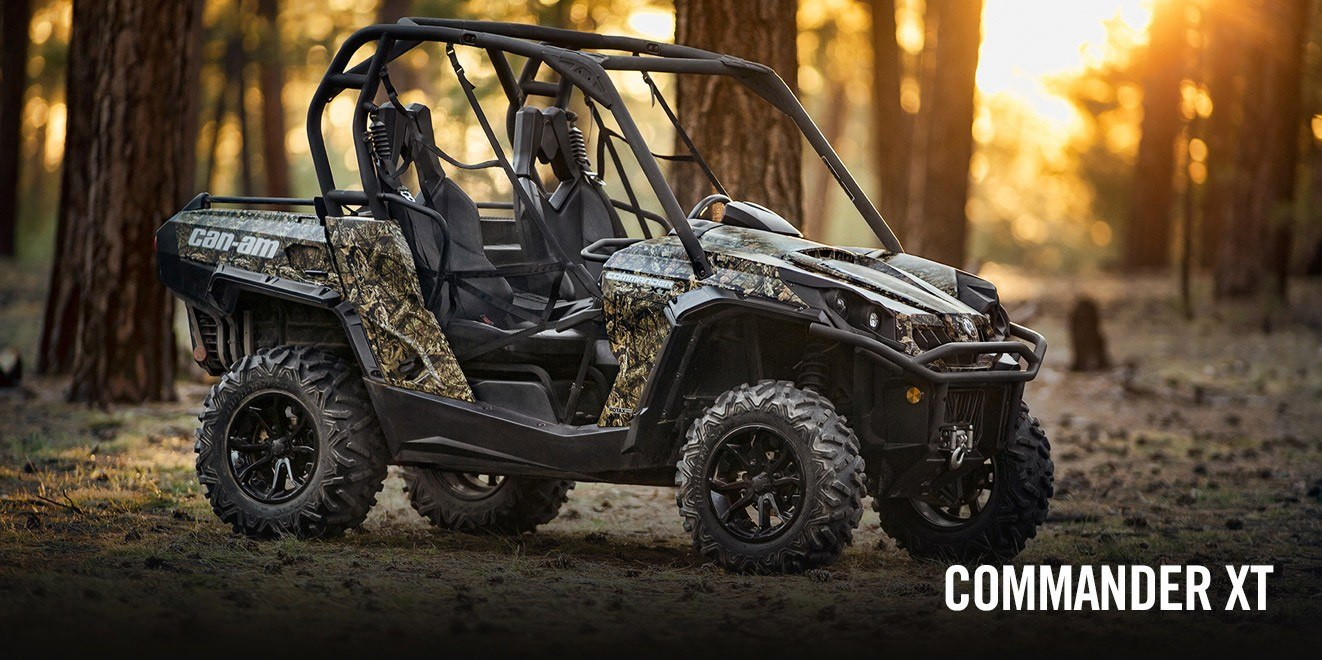 2017 Can-Am Commander 1000 Mossy Oak Hunting Edition in Garberville, California