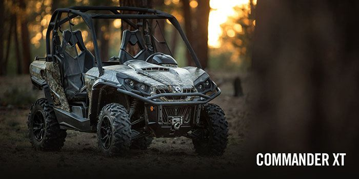 2017 Can-Am Commander 1000 Mossy Oak Hunting Edition in Keokuk, Iowa