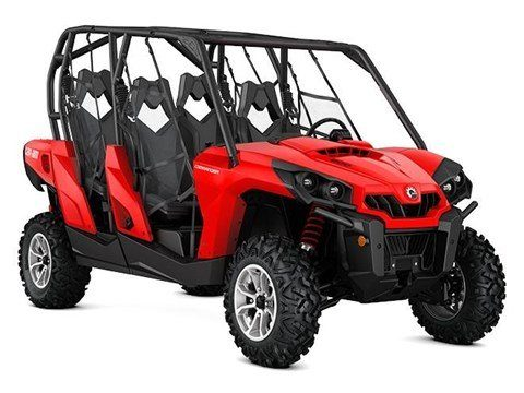 2017 Can-Am Commander MAX DPS 800R in Seiling, Oklahoma
