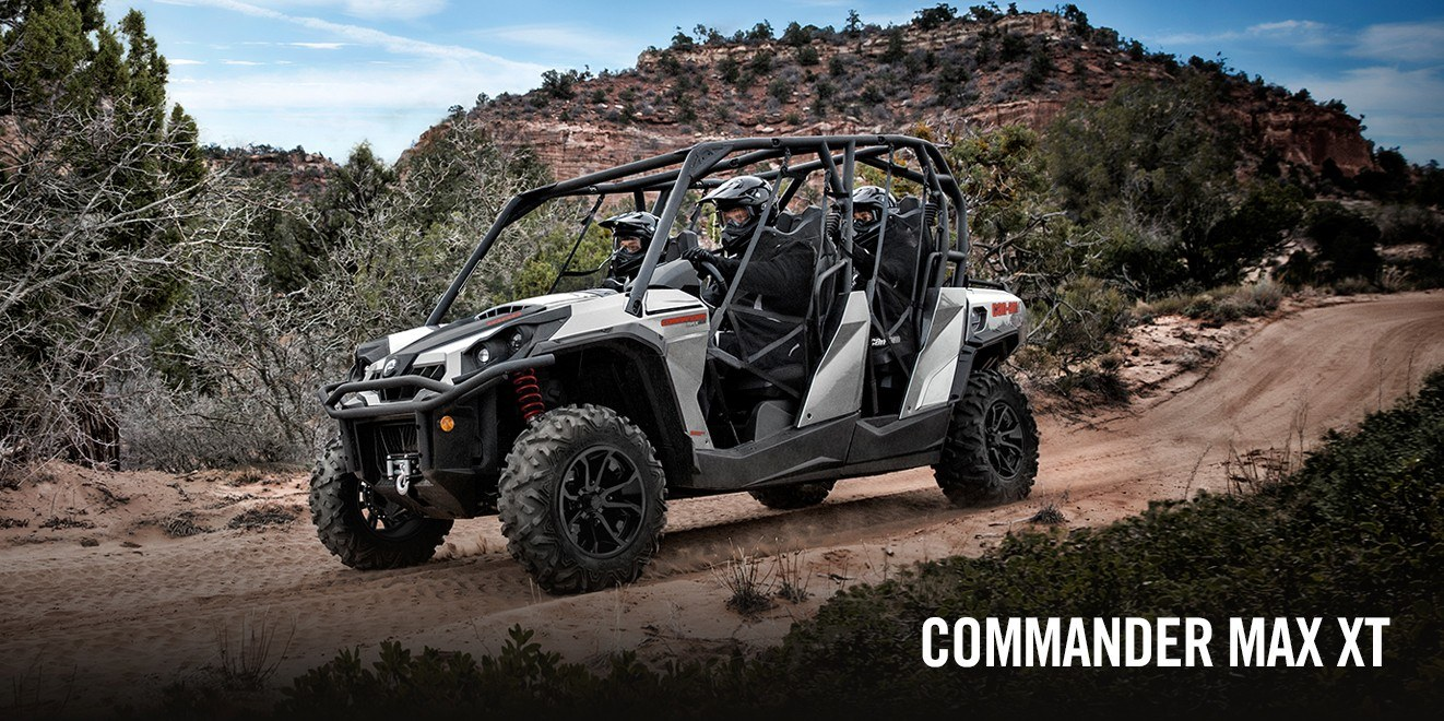 2017 Can-Am Commander MAX XT 1000 in Leesville, Louisiana