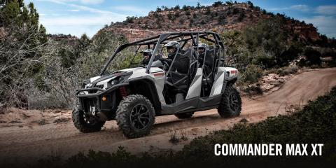 2017 Can-Am Commander MAX XT 1000 Camo in Dearborn Heights, Michigan