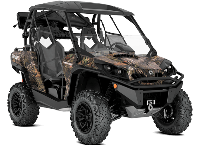 2018 Can-Am Commander Mossy Oak Hunting Edition in Springfield, Ohio