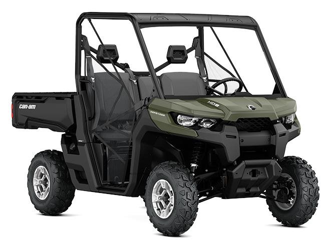 2017 Can-Am™ Defender DPS HD8 1
